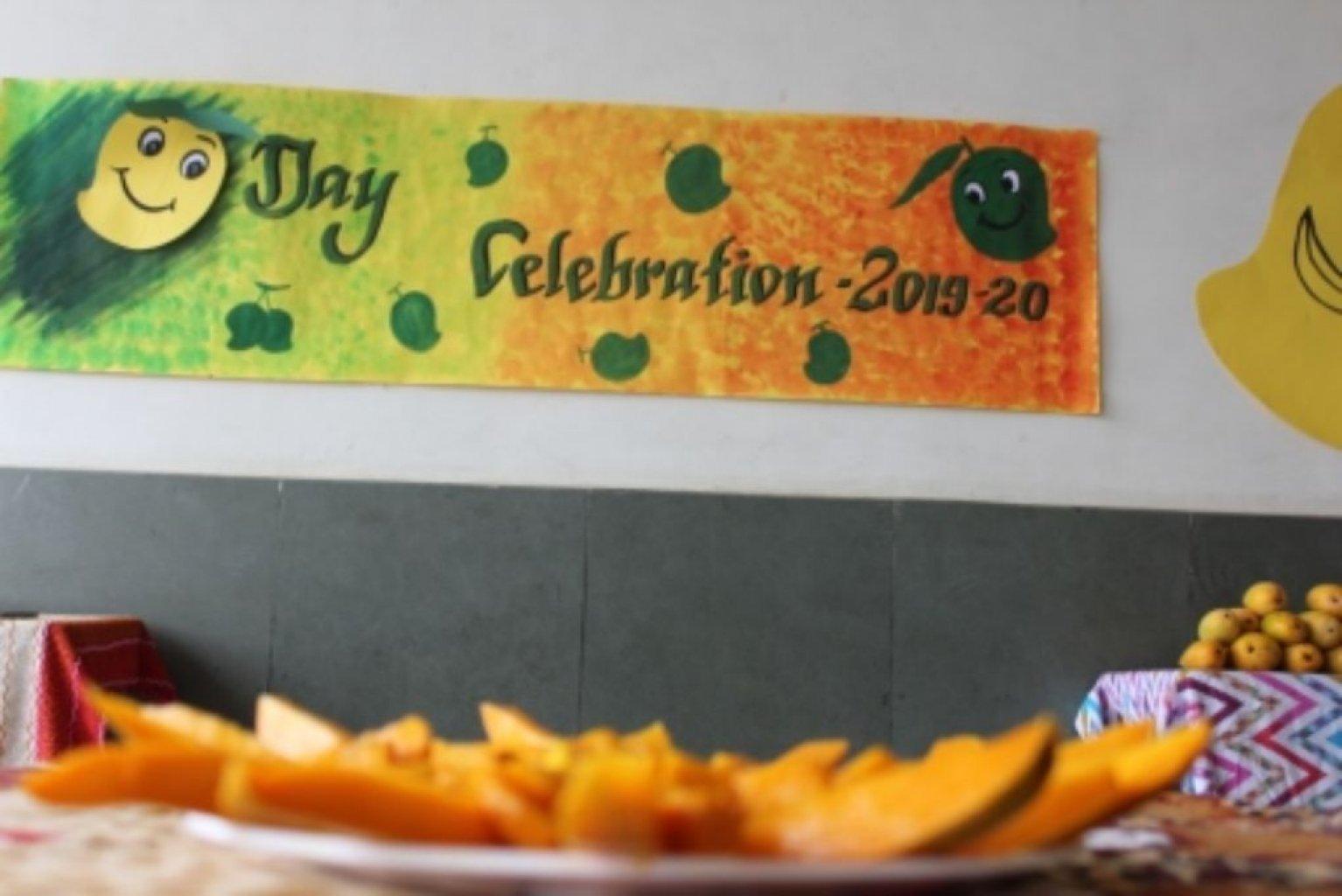Mango Day Celebration of pre-primary