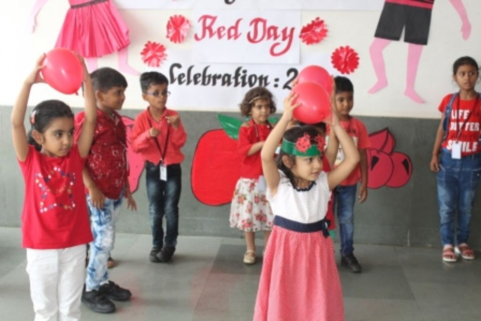 Red Day Celebration of Pre-Primary