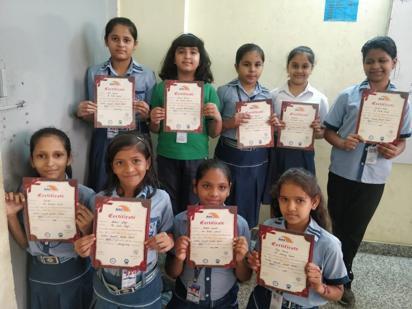 DISTRIBUTION OF ABACUS CERTIFICATES/MEDALS